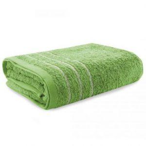 Eurofirany Ręcznik Frotte Zielony 75X200