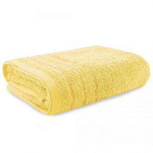 Eurofirany Ręcznik Frotte Żółty 75X200