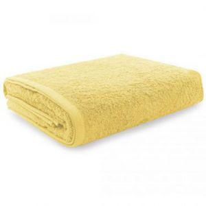 Eurofirany Ręcznik Gładki Żółty 70x140