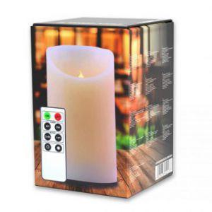 DecoKing Świeca LED Biały...