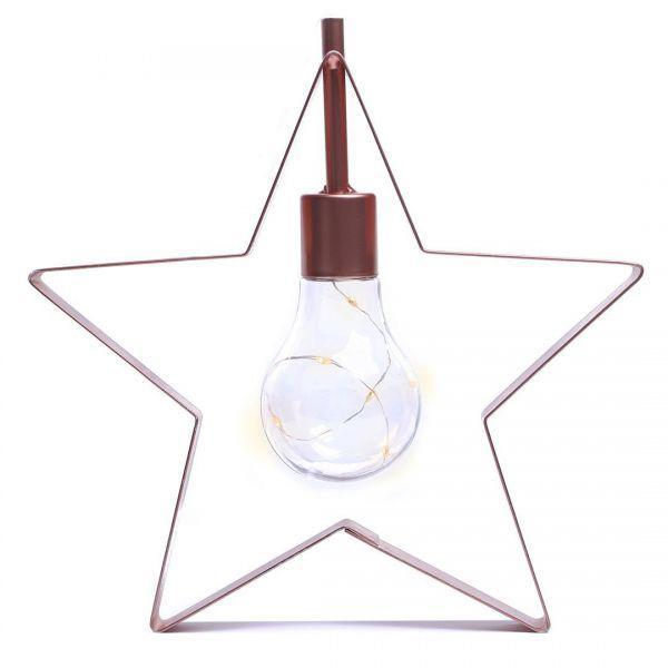 DecoKing Dekoracyjna lampka LED w kształcie gwiazdki 5diod