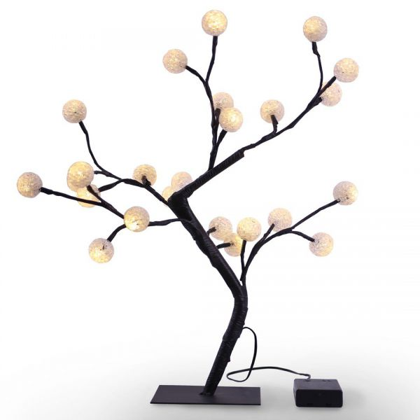 DecoKing Drzewko LED bonsai 24 diody 45cm