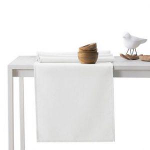 DecoKing Bieżnik bawełna PURE 40X140 Biały