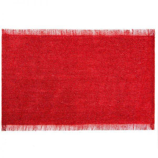 Podkładka DENISE 30X45 czerwona x6