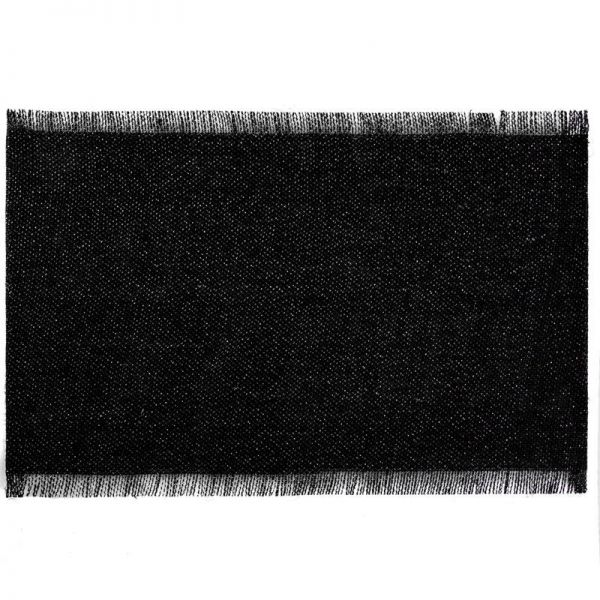 Podkładka DENISE 30X45 czarna x6