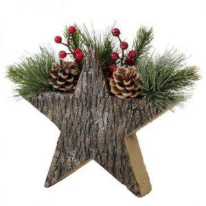 Stroik świąteczny ekologiczny MEG 28X10 brąz