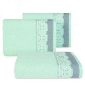Ręcznik frotte TINA4 70X140 miętowy