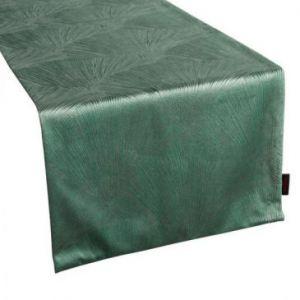 Bieżnik welwetowy Pierre Cardin GOJA 40X140 zielony